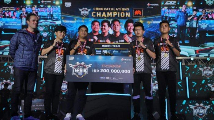 Morph Team Juara Grand Final Dunia Games League 2020 yang Digelar Telkomsel