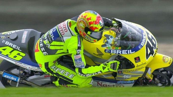 Ternyata Awal Karirnya Valentino Rossi Mengidolakan Pembalap Ini Hingga Mencontek Namanya