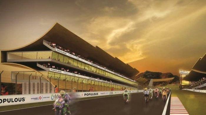 VIDEO Penampakan Sirkuit Mandalika Lombok untuk MotoGP 2019, Ada Terowongan di Lintasan