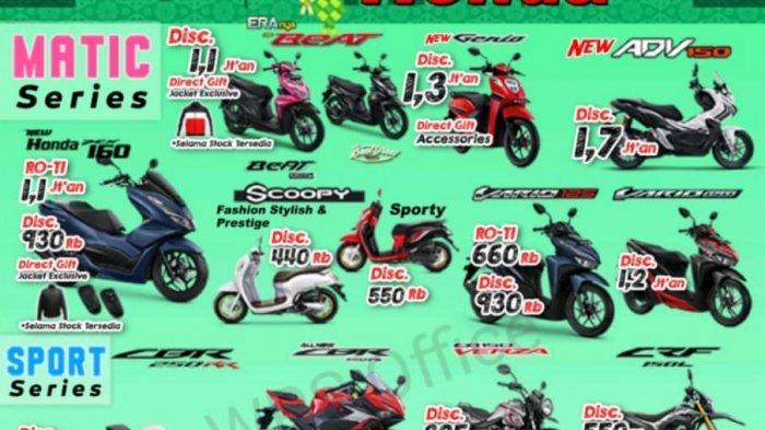 Honda Scoopy Jadi Motor Terlaris di Honda NSS Tanjung Pandan Periode April-Mei 2021