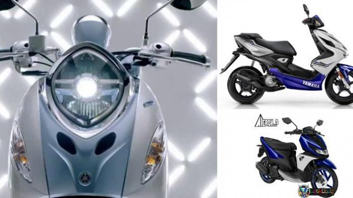 Yamaha Fino 125 Blue Core dan Aerox 125