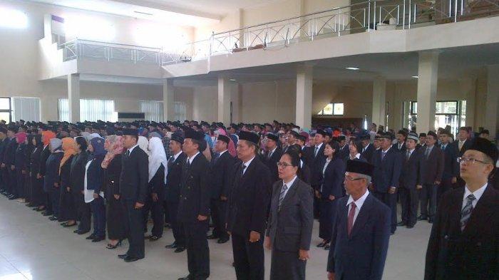 Ini Nama Pejabat Yang Mengisi Jabatan di SKPD Baru di Lingkungan Pemkab Belitung