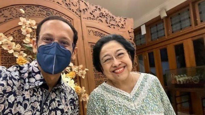 Kencang Kena Isu Reshuffle, Nadiem Makarim Temui Megawati, Hasto Ungkap Ini Isi Pertemuannya