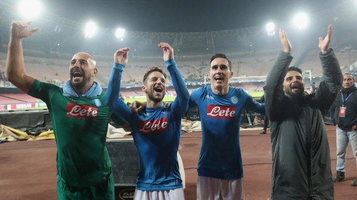 Saksikan LIVE STREAMING Feyenoord Vs Napoli Malam Ini Disini! Napoli Berharap pada Man City