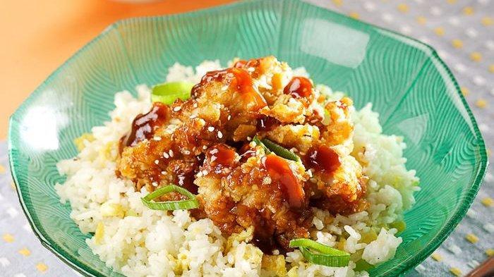 Sarapan Tak Lagi Membosankan Kalau Daging Ayam Diolah Jadi Nasi Ayam Tepung Saus Tiram
