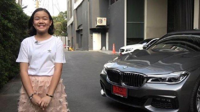 Rayakan Ulang Tahun ke-12, Gadis Ini Beli Mobil BMW Seharga Rp 2 Miliar, Terungkap Sumber Uangnya