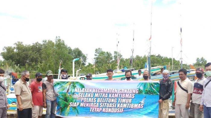Kelompok Nelayan Gantung Ikut Jaga Kamtibmas Jelang Pilkada Beltim 2020