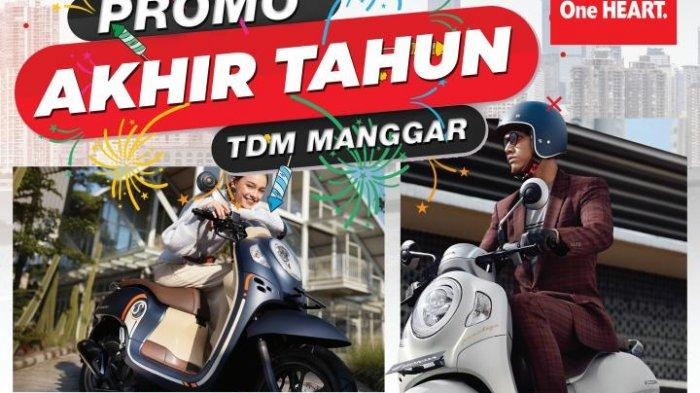 TDM Manggar Berikan Promo Akhir Tahun untuk Pembelian All New Scoopy