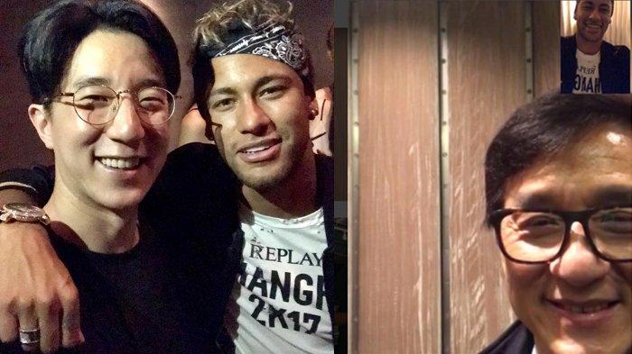 Anak Jackie Chan Wujudkan Impian Neymar Bertemu Idolanya, Jutaan Warganet Menyukai Foto Mereka
