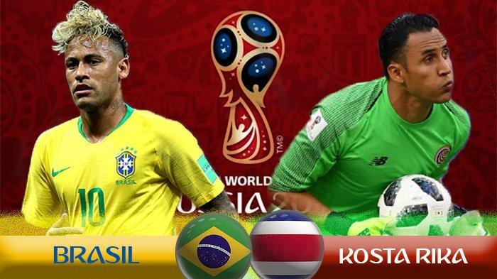 Ini Jadwal Siaran Langsung Piala Dunia 2018 Antara Brasil Vs Kosta Rika, Nostalgia Beda Kenangan