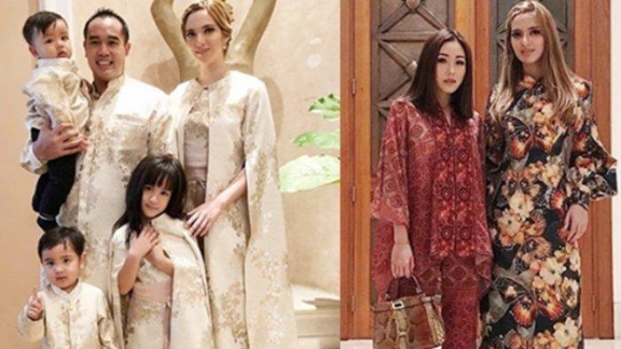 Menantu-menantu Cantik Keluarga Konglomerat Bakrie Berkumpul di Hari Lebaran, Intip Fotonya Yuk!