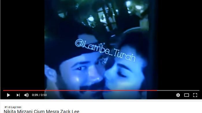 Video Nikita Dengan Zack Lee Jadi Trending Topic, Nikita: Nggak Mau Dituduh Perusak Rumah Tangga
