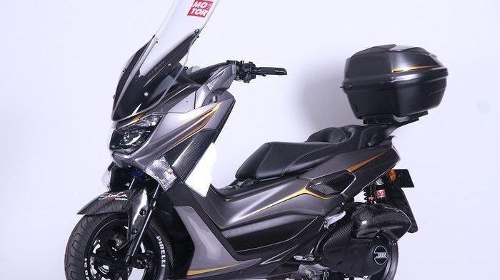 Bertarung di Cuzztomax, Yamaha NMAX Ini Bermain Karbon Habiskan Rp 25 Juta