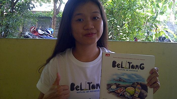 Gadis Ini Buat Buku Panduan Wisata Belitung Berjudul Belitong Nature Of Paradise