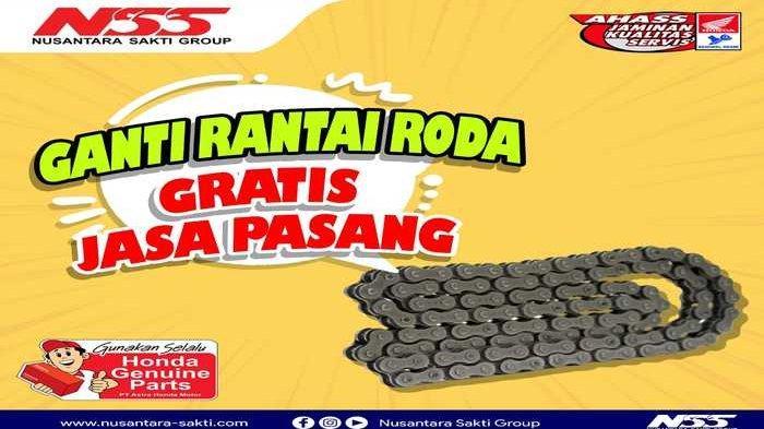 Info lebih lanjut mengenai promo penjualan motor Honda dapat menghubungi marketing di nomor 083170755417.