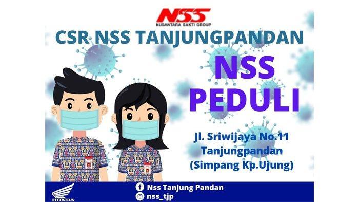 NSS Tanjungpandan Berbagi Sembako