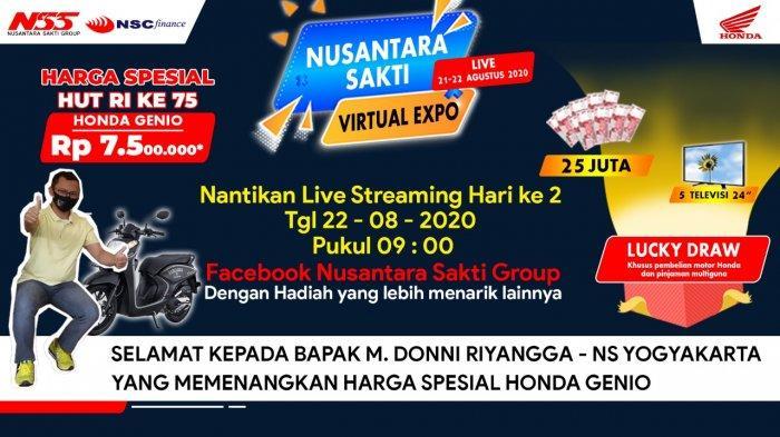 Semarak Kemerdekaan, Honda Nusantara Sakti Group gelar Virtual Expo