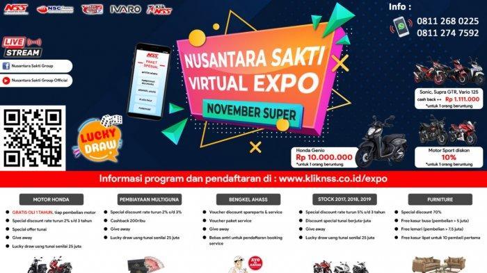 Honda Nusantara Sakti Group Gelar Virtual Expo November Super hingga Paket Super Hemat AHASS
