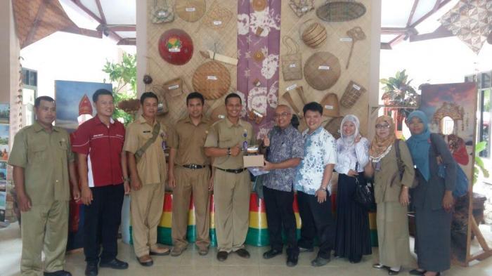 Ini Foto-foto Kunjungan BPK Jakarta di Objek Wisata Ngenjungak Belitung Timur