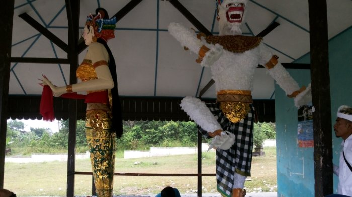 Sambut Nyepi, Warga Dusun Balitung Siapkan Dua Ogoh-ogoh Sejak Dua Bulan Lalu