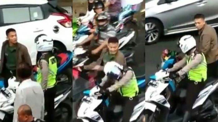 Oknum TNI Ini Disel Isolasi Usai Videonya Memukul Polantas Viral, Ini Nasib Anggota Polantasnya