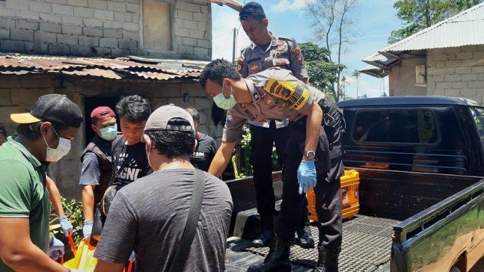 BREAKING NEWS -Sesosok Mayat Laki-laki Tergeletak di Rumah Warga Air Merbau Tanjungpandan