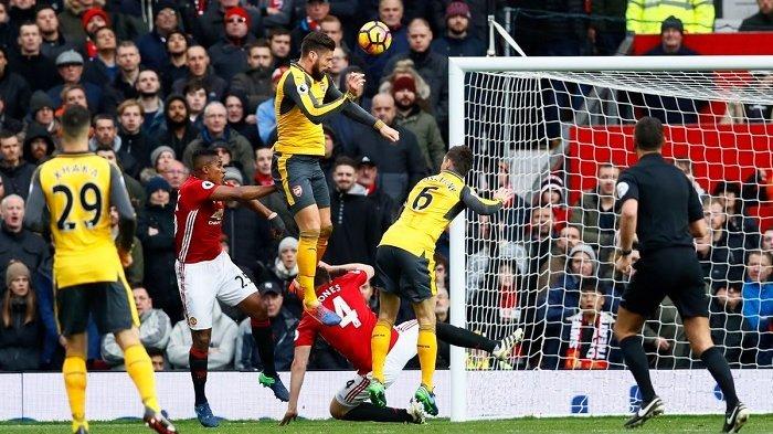 Main Dikandang, Manchester United Bermain Imbang Kontra Arsenal, Ini Cuplikan Golnya