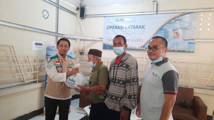 YBM PLN Bangka Belitung Adakan Operasi Katarak Gratis untuk Kaum Duafa dan Marbot Masjid