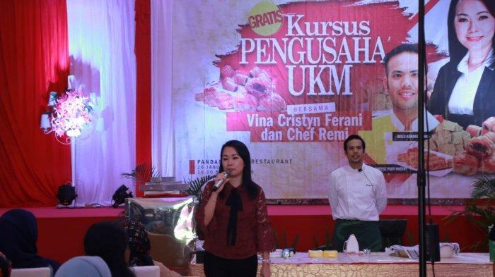 Pemilik Babel Mart Berikan Kursus Pengusaha Bagi Pelaku UKM Belitung