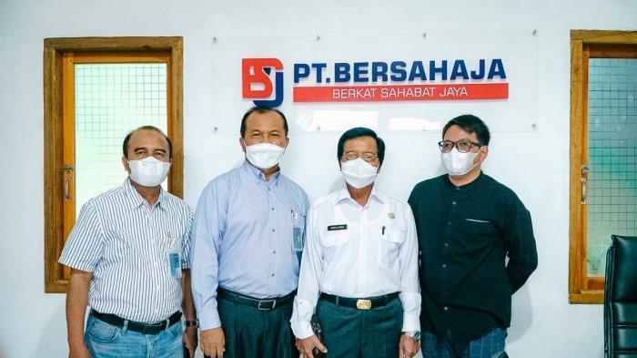 Sapa Pelanggan Potensial, GM PLN dan Wagub Bangka Belitung Kunjungi Pabrik Zircon