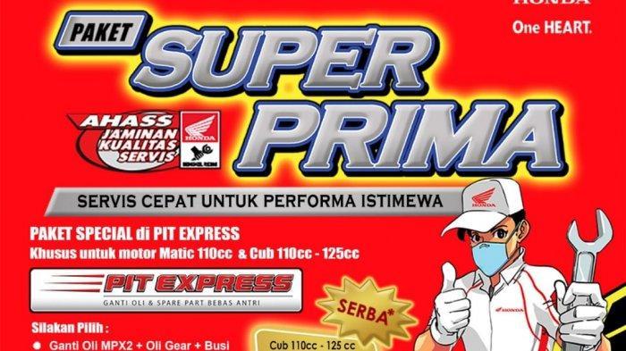 Promo Paket Super Prima Honda ASP Belitung