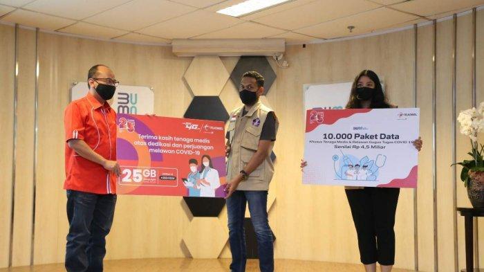 Telkomsel Hadirkan Paket Khusus Kuota Data 25GB per Bulan bagi Tenaga Medis di Seluruh Indonesia