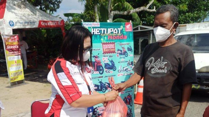 Honda ASP Belitung Bagi-bagi Sembako Murah dan Service Ekonomis