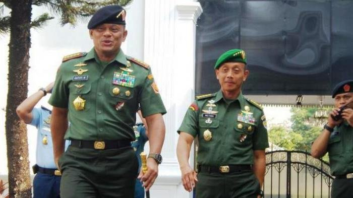 Ditanya Soal Celotehan 'Wakil Presiden', Panglima TNI Jawab dengan Nada Sedikit Meninggi