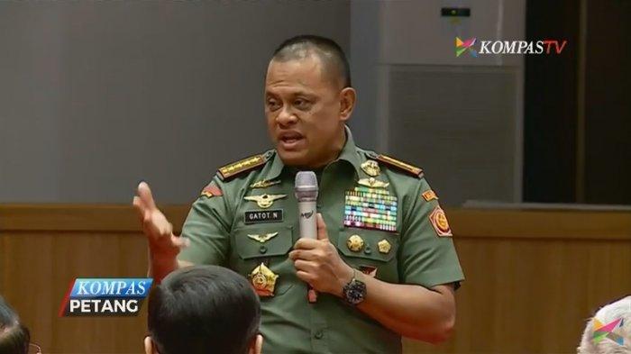Gara-gara Ini, Panglima TNI Jenderal Gatot Nurmantyo Diminta Pensiun Dini dan Gabung Parpol