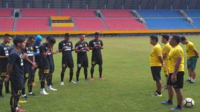 Sriwijaya FC Melakoni Laga Tandang di Stadion Mini Medan