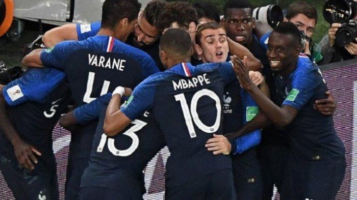 Perancis untuk Ketiga Kalinya Melaju ke Final Piala Dunia 2018 Usai Kalahkan Belgia