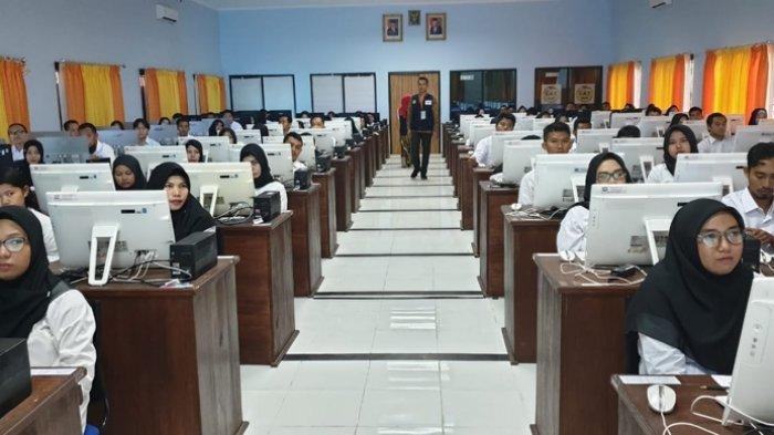 18 Peserta SKB Beltim Ikuti Seleksi Kompetensi Bidang di Luar Belitung Timur