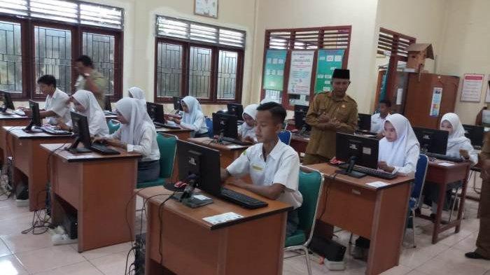 182 Siswa MAN 1 Belitung Mengikuti UAMBN-BK, Masdar Ingatkan Siswa Belajar, Jujur dan Teliti