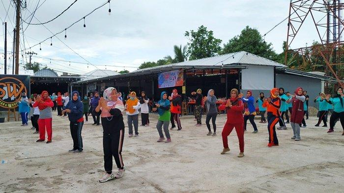 Bupati Belitung dan Forkopimda Senam Bersama Peringati Haornas ke-38
