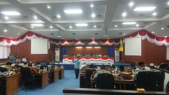 Ini Nama-nama Fraksi yang Ditetapkan Pada Paripurna DPRD Belitung