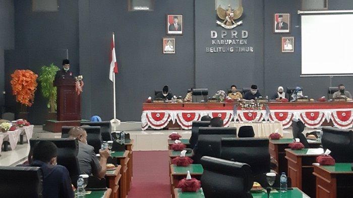 Proyeksi Pendapatan Daerah Belitung Timur 2021 Turun 6,15 Persen