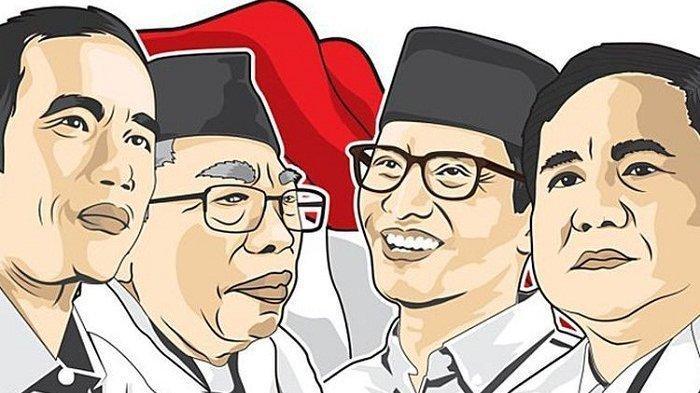 Video Live Streaming Debat Capres-Cawapres Jokowi-Maruf Vs Prabowo-Sandi