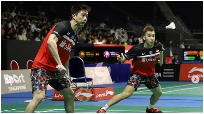 Skill Marcus Gideon Sukses Bikin Malu Raja Super Series, Lee Yong Dae/Yoo Yeon Seong