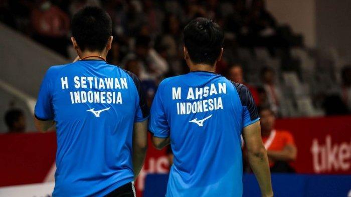 Live Streaming Thailand Open II 2021, Peluang Ahsan/Hendra di Laga Derbi, Tersisa 10 Wakil Indonesia