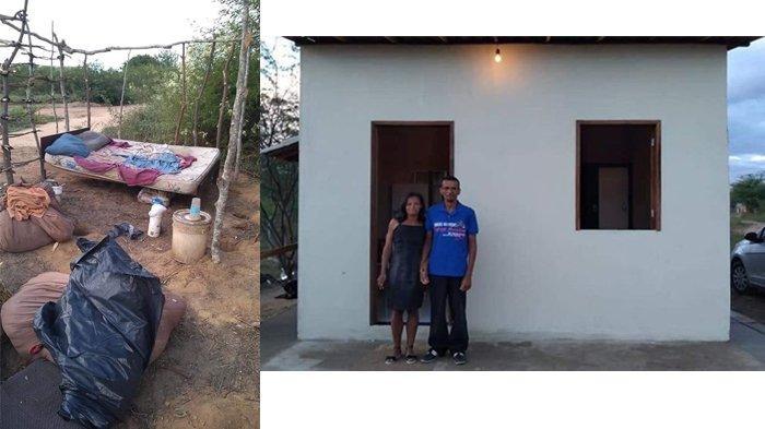 Pasangan Ini Buktikan Kesetiaan dalam Hidup, dari 'Primitif' Hingga Mempunyai Rumah Seperti ini