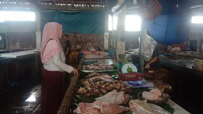 Pasca Lebaran Harga Ikan Di Pasar Tanjungpandan Naik 30 persen