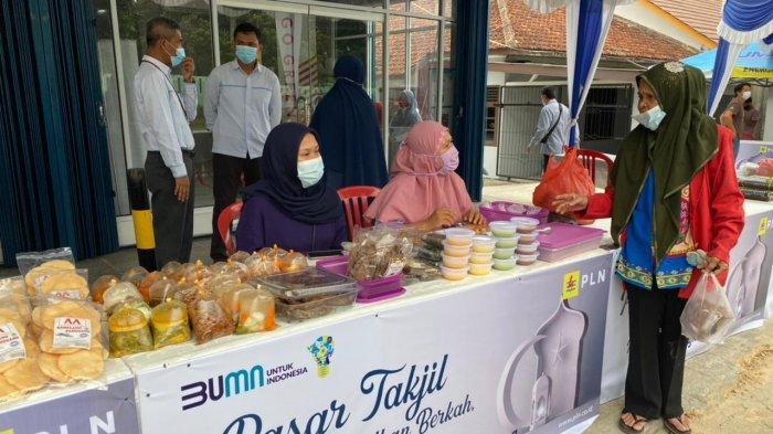 PT PLN Peduli Gelar Pasar Takjil Selama Bulan Suci Ramadhan, Ada Gratisnya