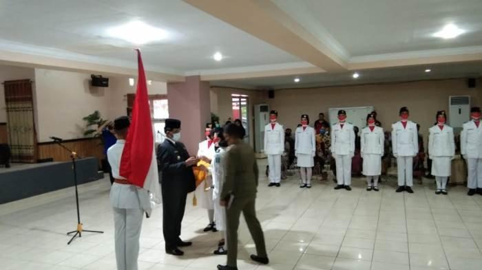 Bupati Yuslih Kukuhkan 32 Paskibra Belitung Timur, 10 yang Akan Bertugas pada Upacara 17 Agustus