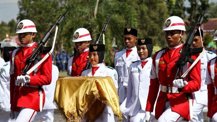 BERITA FOTO: Upacara Peringatan Hari Kemerdekaan Republik Indonesia ke-73 di Beltim